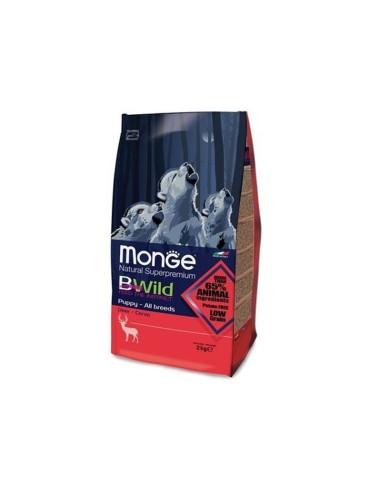 Monge bwild low grain puppy cervo 2,5 kg