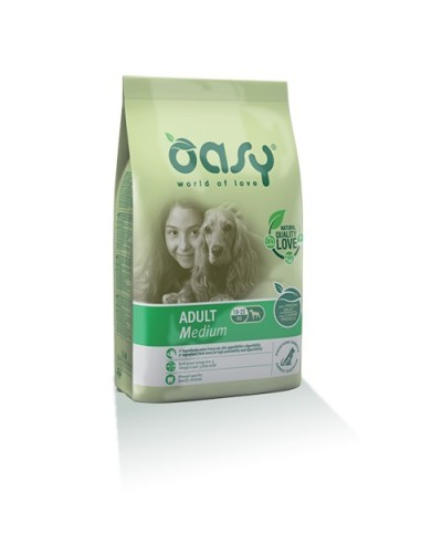Oasy LifeStage Secco Cane   Medium Pollo 12kg