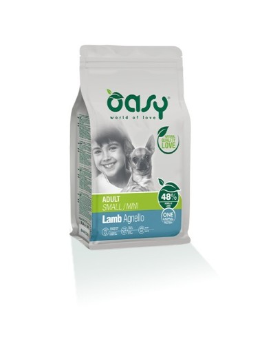 Oasy One     Secco Cane Small/Mini Agnello 2.5kg