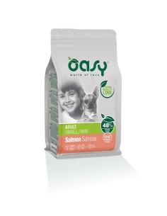 Oasy One Animal Protein Secco Cane   Small/Mini Salmone 800gr