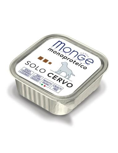 Monge Dog Monoprotein Wet Food Solo Cervo - 150gr