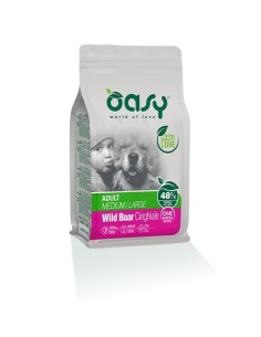 Oasy One Animal Protein Secco Cane Medium/Large Cinghiale 12kg