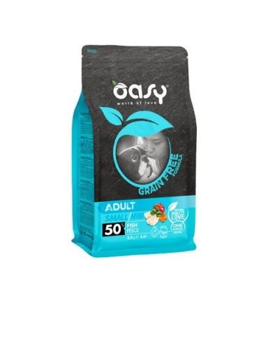Oasy Grain Free Secco Cane Small/Mini Pesce 2.5kg