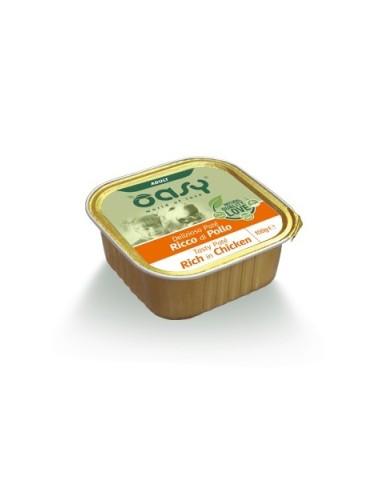 Oasy Deliziosi Patè Umido Cane - Ricco di Pollo 150gr