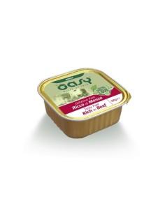 Oasy Deliziosi Patè Umido Cane - Ricco di Manzo 150gr