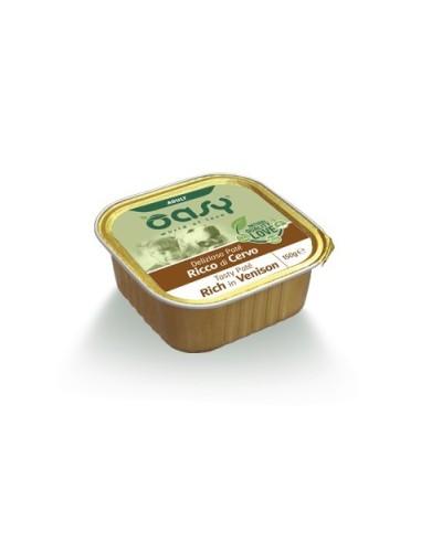 Oasy Deliziosi Patè Umido Cane - Ricco di Cervo 150gr