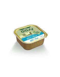 Oasy Deliziosi Patè Umido Cane - Ricco di Pesce 150gr