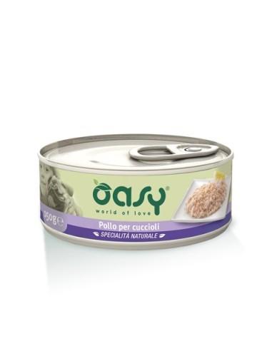 Oasy Specialità Naturale - Pollo per Cuccioli - 150gr