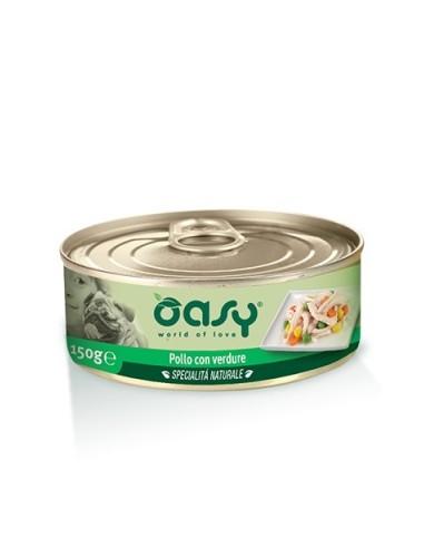 Oasy Specialità Naturale - Pollo con Verdure - 150gr