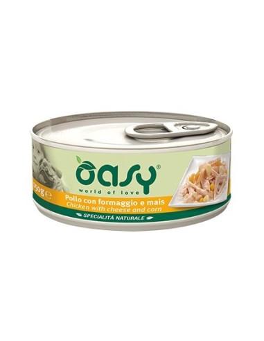 Oasy Specialità Naturale - Pollo con Formaggio e Mais - 150gr