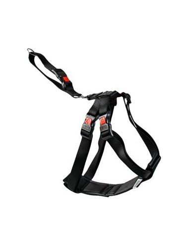Cintura di sicurezza nera per auto per cani - Taglia L 50-70cm
