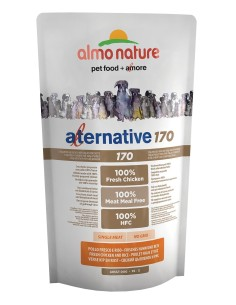 Almo Nature ALTERNATIVE 170 XS-S Pollo e Riso 750g