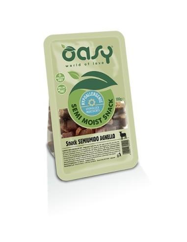 Oasy Snack Naturale Cane - Semiumido Agnello