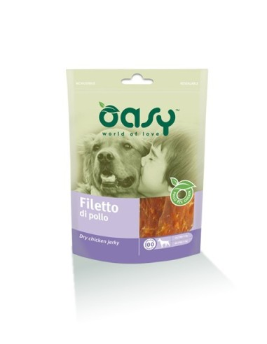 Oasy Snack Cane - Filetto di Pollo 100gr