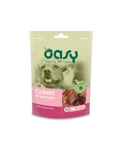 Oasy Snack Cane - Cubetti di Salmone 80gr