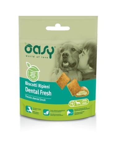 Oasy Snack Cane - Biscotti Ripieni Dental Fresh 80gr