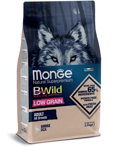 Monge BWild Low Grain All Breeds - Oca 2,5kg