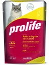 Prolife Cat Adult Pollo Fegato e Carote - 85 gr
