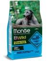 Monge BWild Grain Free All Breeds - Acciughe con Patate e Piselli 12kg