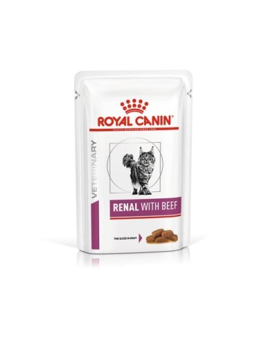 Royal Canin Gatto Renal with Beef - 85gr