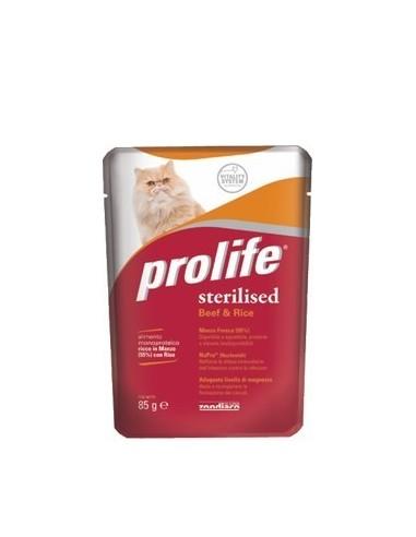 Prolife Cat Sterilised Manzo e Riso - 85 gr