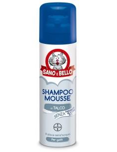 Bayer Sano e Bello Shampoo Mousse al talco per gatti 200 ml