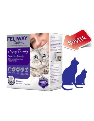 Feliway Optimum Diffusore + Ricarica 48ml