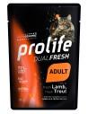 Prolife Cat Dualfresh Adult Agnello e Trota - 85 gr - NEW