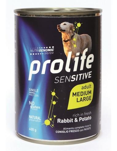 Prolife Sensitive   Medium/Large Coniglio e Patate - 400 gr