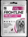Frontline tri-act spot-on per cani 2-5 kg 1 Pipetta