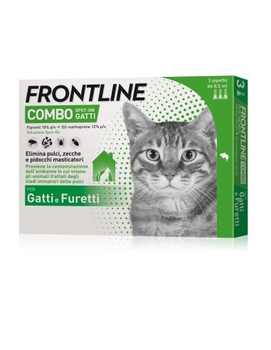 Frontline Combo Spot-On Gatti 3 pipette