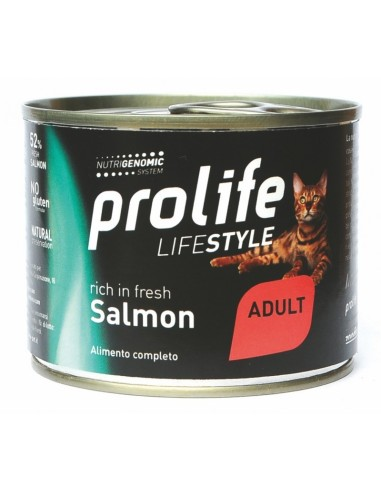 Prolife Cat Adult Salmone e Riso - 200 gr