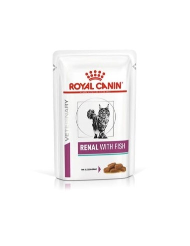 Royal Canin Renal Gatto con Pesce - 12x85gr