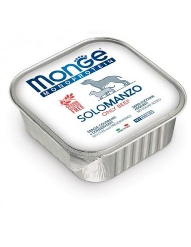Monge Dog Monoprotein Wet Food Solo Manzo - 150gr