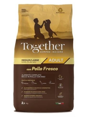 Together Adult Medium/Large con Pollo fresco 2,5kg