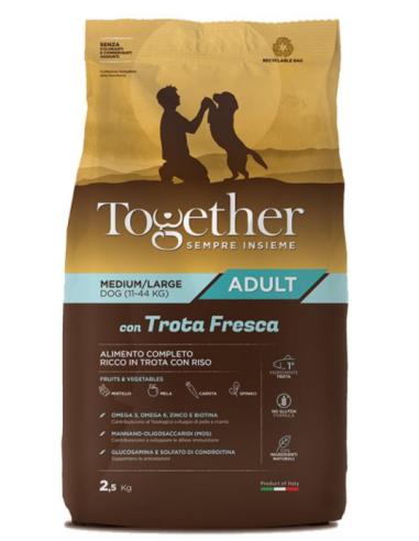 Together Adult Medium/Large con Trota fresca 2,5kg