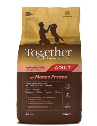 Together Adult Grainfree Medium/Large con Manzo fresco 12kg