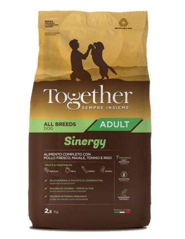 Together Adult All Breeds Sinergy con Pollo fresco, Maiale e Tonno 2,5kg