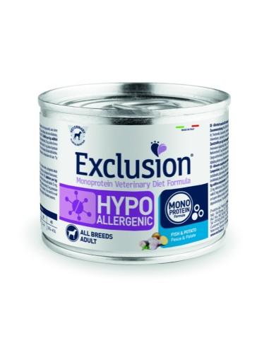 EXCLUSION Hypoallergenic Cinghiale e Patate lattina 200g