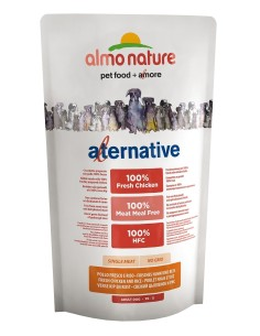 Almo Nature ALTERNATIVE XS-S Pollo e Riso 750g