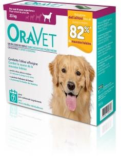 Oravet Gum L per cani oltre 23 kg 7 pezzi