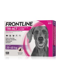 Frontline tri-act spot-on per cani 20-40 kg