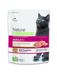 Natural trainer Gatto adult  pollo fresco 300 gr