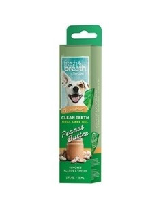 TROPICLEAN Clean Teeth Gel Peanut Butter 59 ml