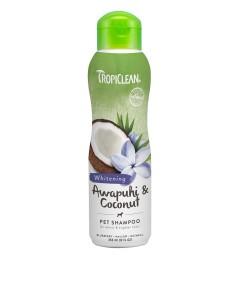 TROPICLEAN Shampoo Awapuhi and Coconut WHITENING 355 ml