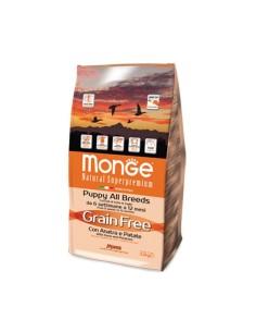 Monge grain free puppy and junior anatra e patate 2,5 kg