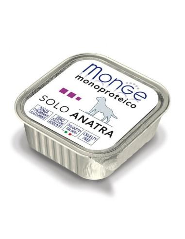 Monge Dog Monoprotein Wet Food Solo Anatra - 150gr