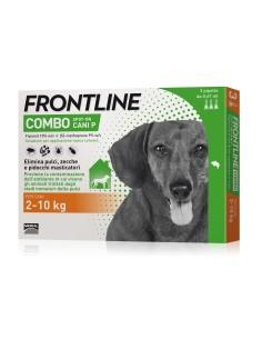 Frontline combo per cani 2-10 kg 3 pipette (NUOVO 2018)