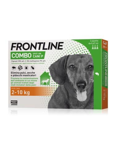 Frontline combo per cani 2-10 kg 3 pipette