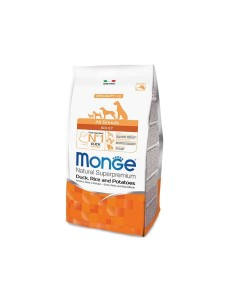 Monge all breeds adult anatra, riso e patate 12 kg